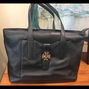 Tory Burch Meyer Plaque Large Tote